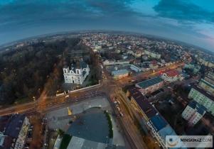 Mińsk z lotu ptaka cz. 3 - Stary Rynek