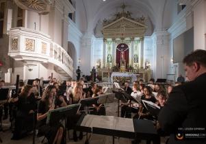 Orkiestra North Thurston  w Kościele NNMP
