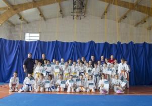 Inauguracja Mazowieckiej Ligi Karate dla dzieci