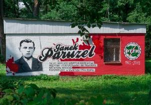 """""""Janek Paruzel"""" - nowe graffiti"""