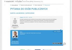 Burmistrz po raz trzeci na mistrzowie.org