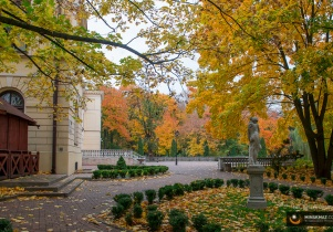 Jesienny park - fotoreportaż