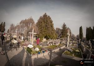 Wszystkich Świętych na mińskich cmentarzach