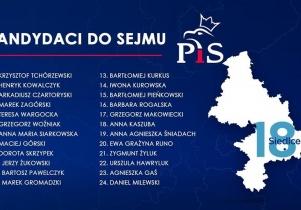 PiS zaprezentowało listy wyborcze. Oto kandydaci w okręgu siedleckim