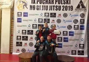 "Zawodnicy ""Grapplera"" na IX Pucharze Polski NO GI JIU JITSU"
