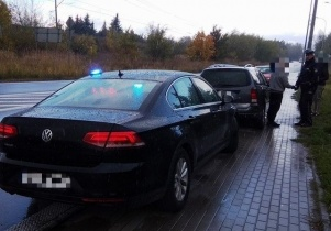 Inspektorzy ITD zatrzymali pijanego kierowcę