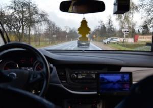 Działania policjantów na drogach powiatu mińskiego