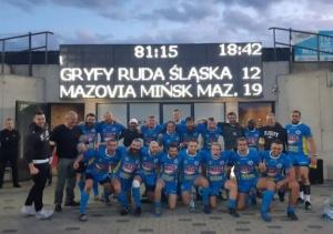 Rugbyści wygrali w Rudzie Śląskiej