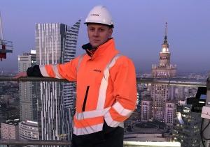 Mińszczanin kieruje budową najwyższego wieżowca w Unii Europejskiej
