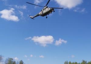 Pilot śmigłowca zauważył zaginionego 91-latka