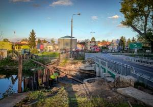 Prace na moście przy ul. Budowlanej