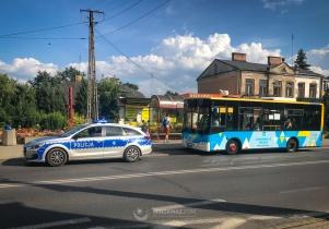 Policjanci kontrolowali kierowców mińskich autobusów