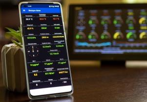 Mińska stacja pogodowa w aplikacji na smartfony