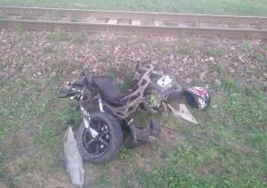 17-latek wjechał w bok rozpędzonego pociągu