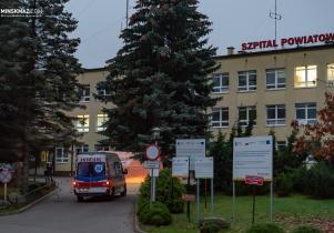 Na pomoc dla pacjentów covidowych w mińskim szpitalu