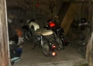 Policjanci odzyskali zabytkowe motocykle
