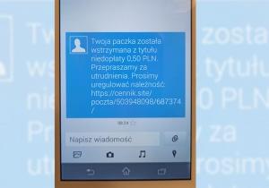 Uważajmy na podejrzane SMS-y