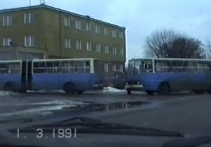 Przejazd ulicą Warszawską