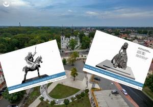 Rzeźby-pomniki na 600-lecie miasta