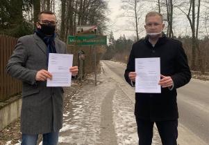 Wnioskują o budowę chodnika ze Stankowizny do Gliniaka