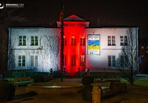 Budynki w kolorach Białorusi