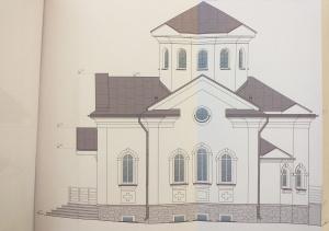 Budowa cerkwi w Mińsku