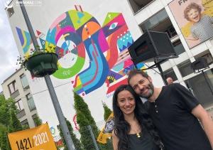 Dni Miasta: odsłonięcie jubileuszowego muralu