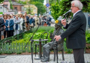 Dni Miasta: odsłonięcie pomnika Piotra Skrzyneckiego
