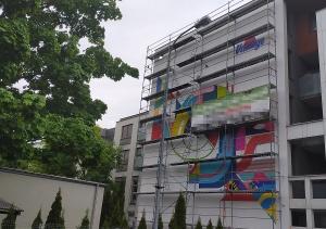 Nowy mural w mieście