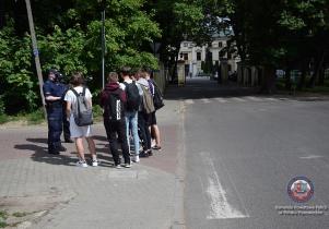 Działania mińskich policjantów w związku ze zmianami w przepisach ruchu drogowego