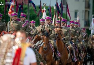 Obchody 100-lecia przybycia 7. Pułku Ułanów Lubelskich do Mińska Mazowieckiego - fotoreportaż