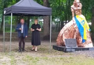 Odsłonięcie rzeźby Anny Mińskiej