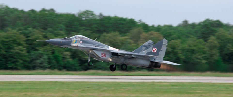 Mińskie MiG-i na pokazach RIAT 2013