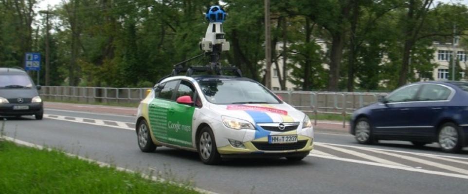 Mińsk i okolice na Google Street View