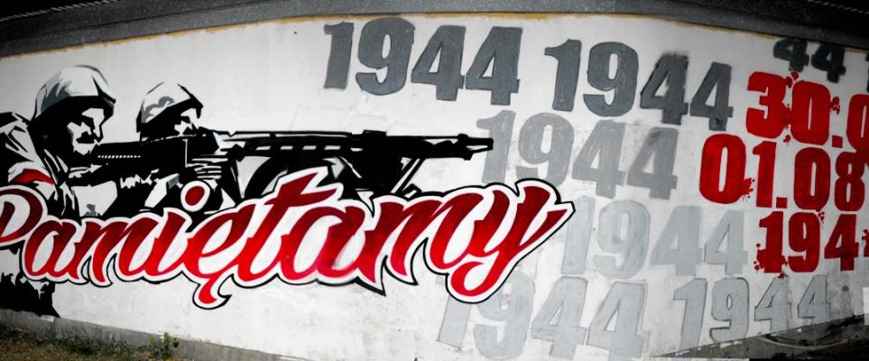 Nowe patriotyczne graffiti