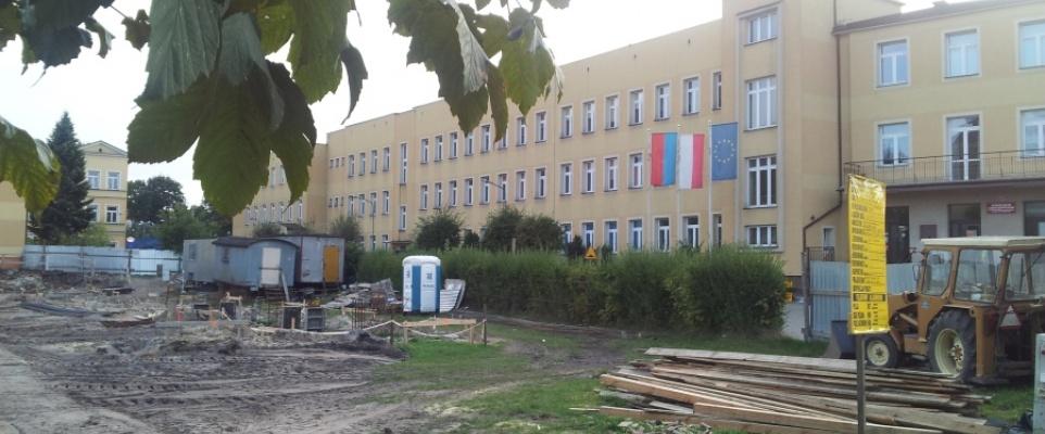 Trwa budowa hali sportowej przy GILO