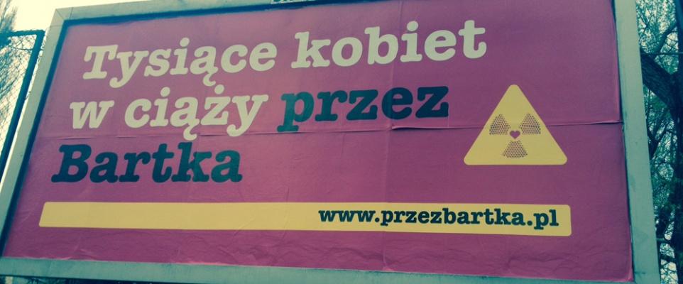 Wszyscy w ciąży przez Bartka - za kontrowersyjną kampanią stoi firma Bartek