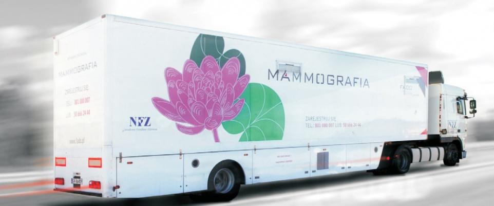 Mammobus LUX MED Diagnostyka w Powiecie Mińskim