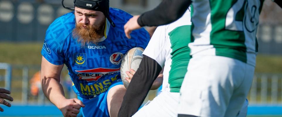 Kontrolny mecz mińskich rugbystów