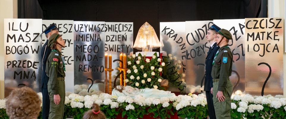 Groby Pańskie w mińskich Kościołach 2019 - galeria zdjęć