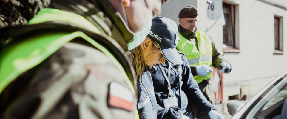 Terytorialsi wspierają Policjantów