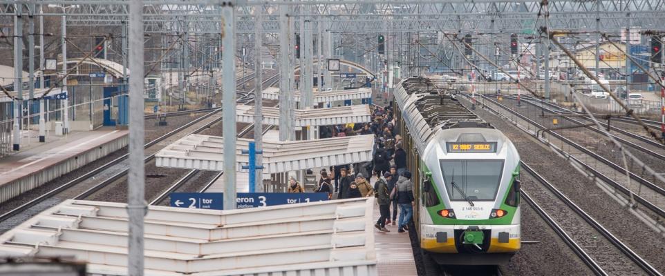 Nowy przystanek kolejowy na trasie z Mińska do Warszawy?