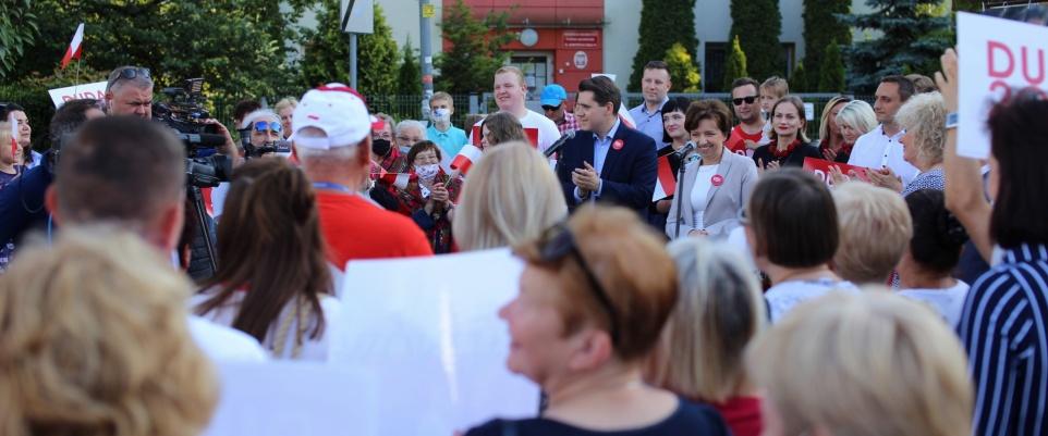 Prezydent Polskich Spraw - wiec poparcia Andrzeja Dudy w Mińsku Mazowieckim