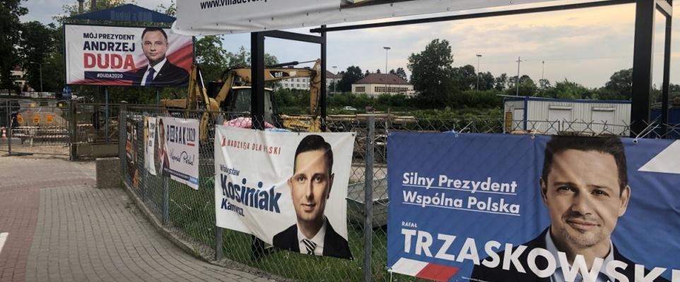 Wyborcza kampania prezydencka 2020