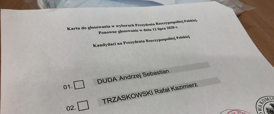 Jak głosowali mieszkańcy miasta i powiatu w II turze wyborów prezydenckich