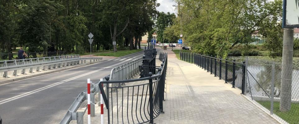 Zakończyły się prace na moście przy ul. Budowlanej