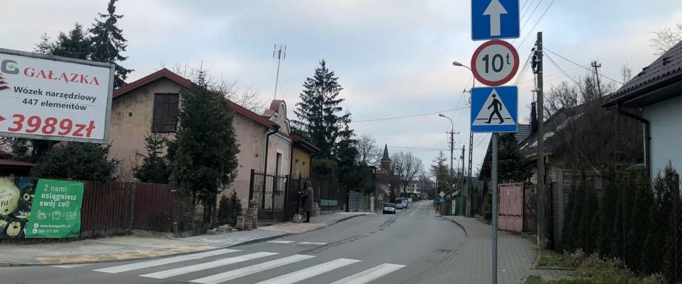 Część ulicy Traugutta drogą jednokierunkową