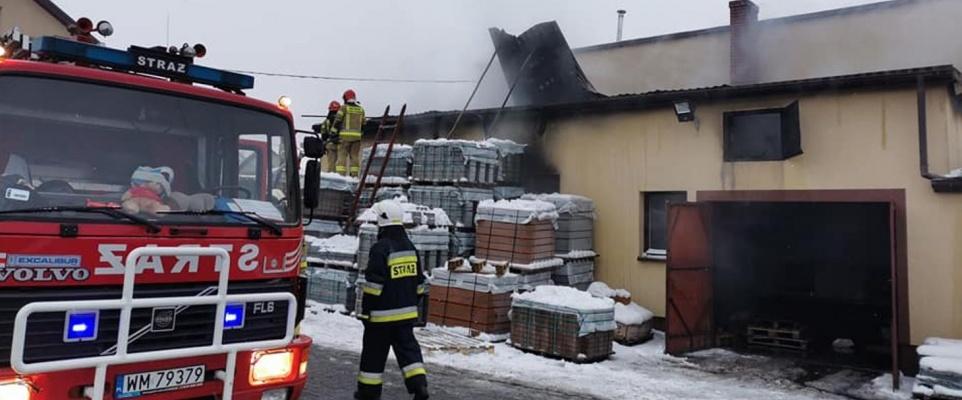 Działania Straży Pożarnych w dn. 18-24.01.2021