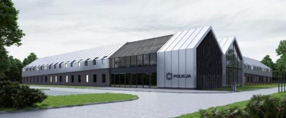 Podpisano umowę na budowę  nowej siedziby Komendy Powiatowej Policji w Mińsku Mazowieckim
