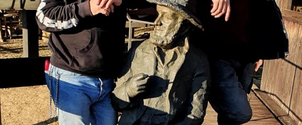 Pomnik Piotra Skrzyneckiego stanie w Mińsku